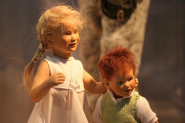 Weihnachtsmarkt Münster..Handmade dolls..handgemaakte poppen.. by Truus, via Flickr