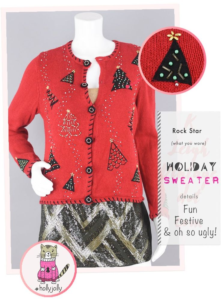 Pin on Ugly Christmas & Halloween Sweaters