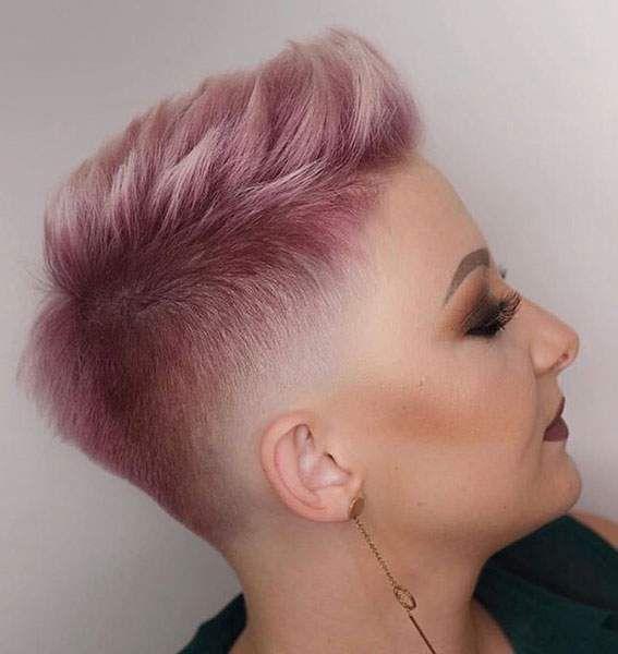 50 schöne lila & Lavendel Haarfarben in Balayage und Ombre
