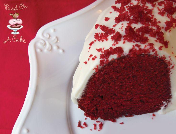Bird On A Cake: Red Velvet Bundt Cake