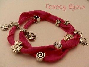 Fashion bracelet_ pink