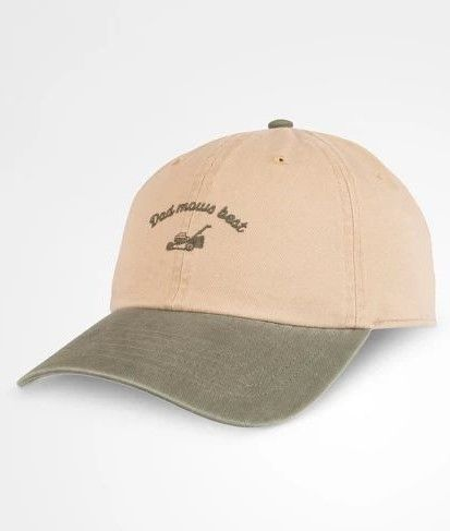 2bc7c62d Wemco Men's Dad Mows Best Father's Day Hat - Light Olive One Size | Father's  Day