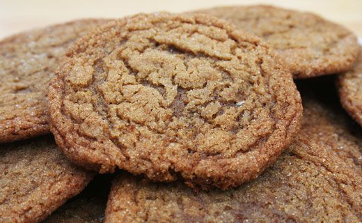 Epicure's Old-fashioned Molasses Cookies