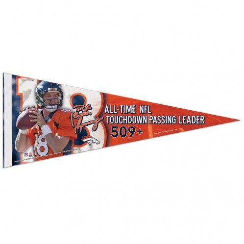 Denver Broncos Peyton Maning Premium Pennant