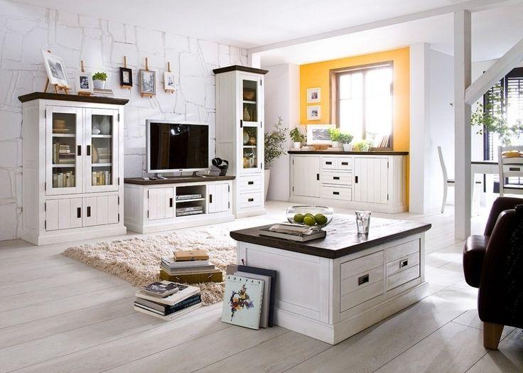 Deko wohnzimmer landhaus  wohnzimmer deko landhausstil wohnzimmer modernes landhaus and ...