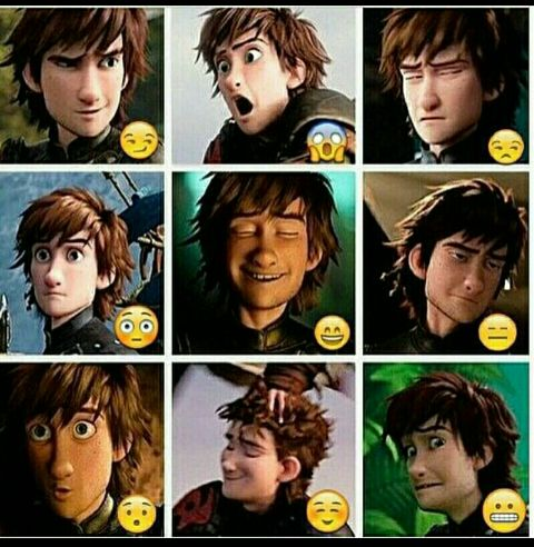 I love how expressive Hiccup is