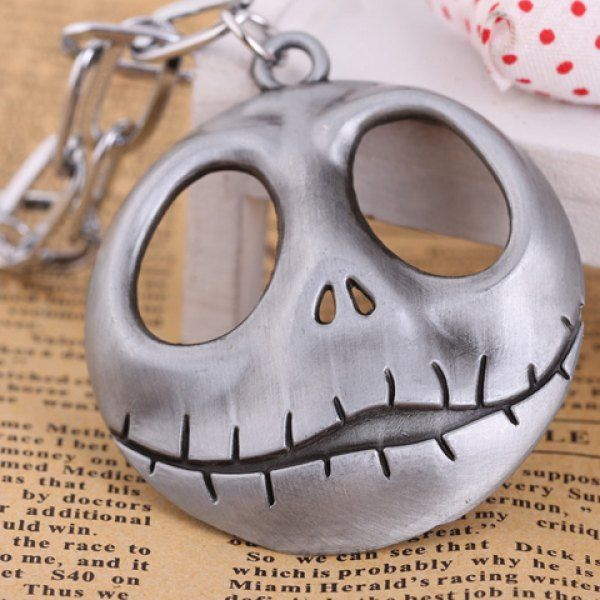 Fashionable The Nightmare Before Christmas Jack Skull Pendant #CLICK! #clothing, #shoes, #jewelry, #women, #men