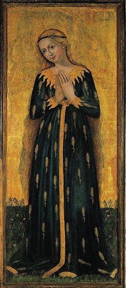 Madonna of Ears, ca 1450, Tyrol