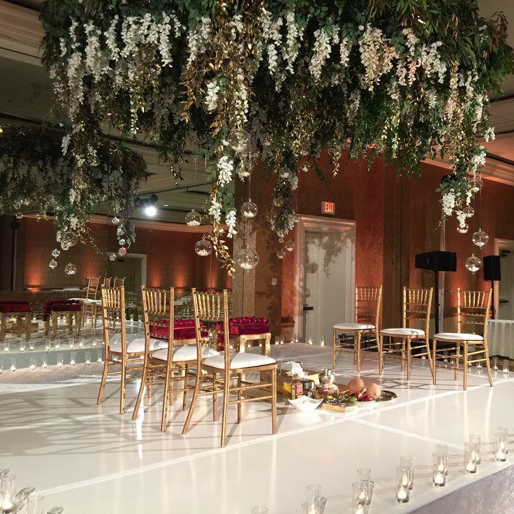 Gorgeous mandap designed by Shawna Yamamoto for last week's stunning wedding in Los Angeles!