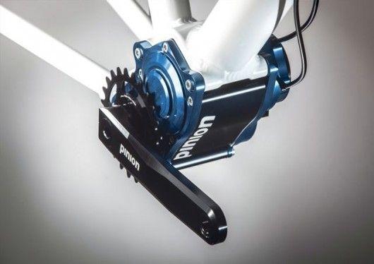 La boîte de vitesses Pinion est une alternative aux dérailleurs offrant une large plage de rapports tout en conservant le poids au centre du vélo.