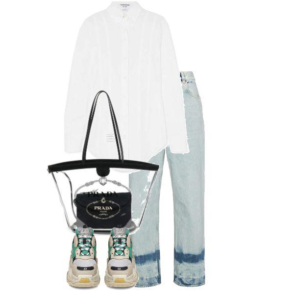 Fashion set Prada created via   URSTYLE & POLYVORE in 2019 ...