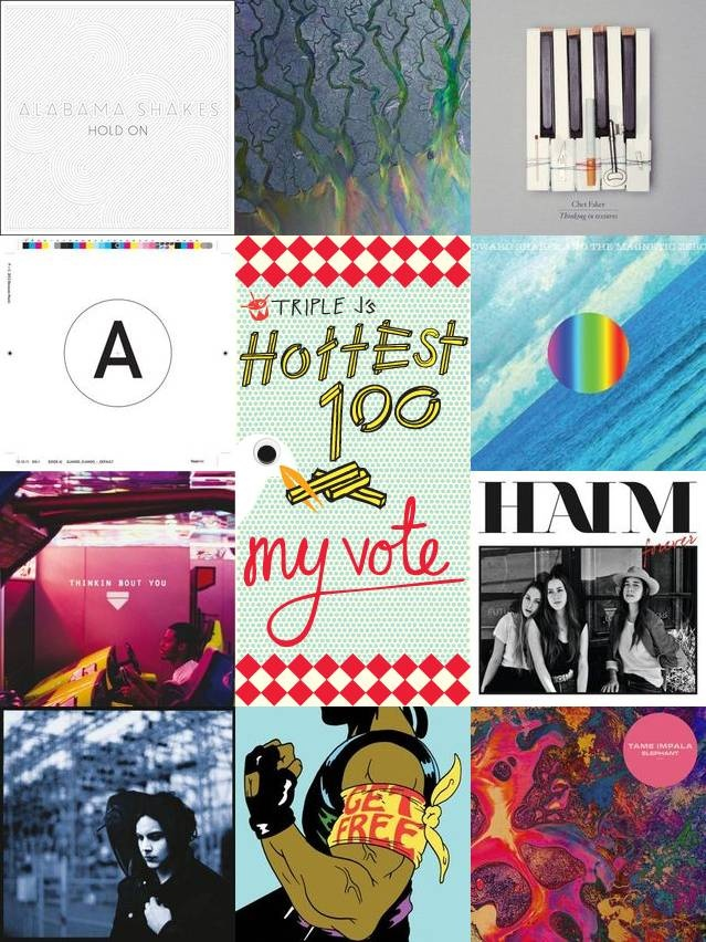 My Triple J Hottest 100 2012 done and dusted!