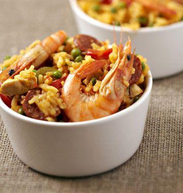 Paëlla au wok - Ôdélices : Recettes de cuisine faciles et originales !