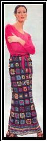 MILLEFLEURS SKIRT - Groovy Crochet