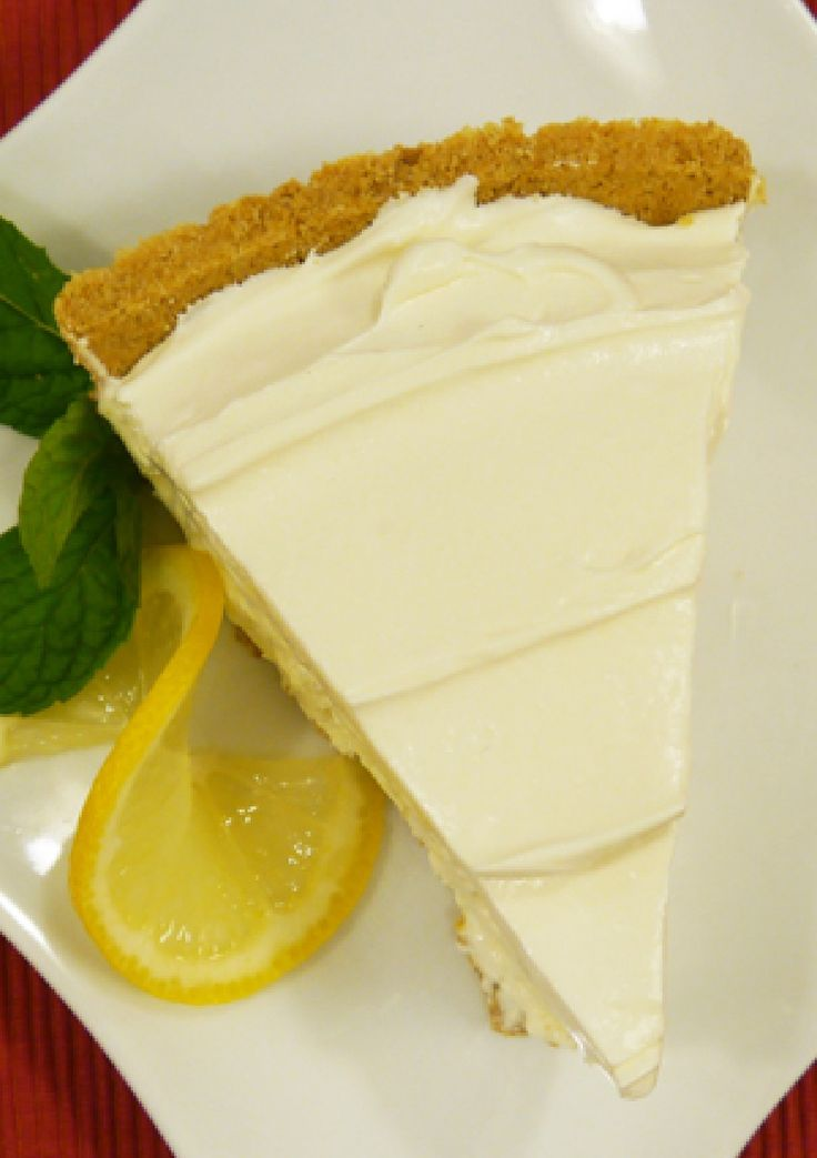 Frozen Lemonade Pie – A filling of lemonade drink mix and whipped topping is spooned into a graham cracker crust and frozen for a super-easy pie recipe. Bring this to your next potluck and you're sure to be the rockstar of the event.
