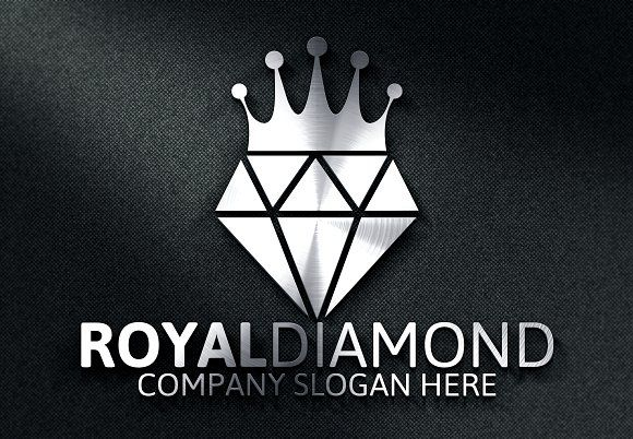 Royal Diamond Logo -30%off by Josuf Media on @creativemarket