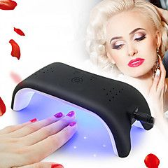Mini+12W+LED+UV+Nail+Dryer+Curing+Lamp+Light+Portable+Design+with+3+Timer+Setting+for+Quickly+Dry+LED+Gel+Nail+Polish+–+USD+$+22.30