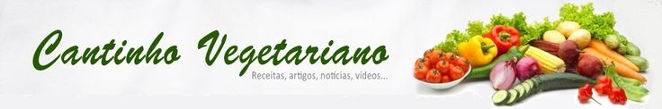 Cantinho Vegetariano: I found a vegetarian Brazilian food site!! :D