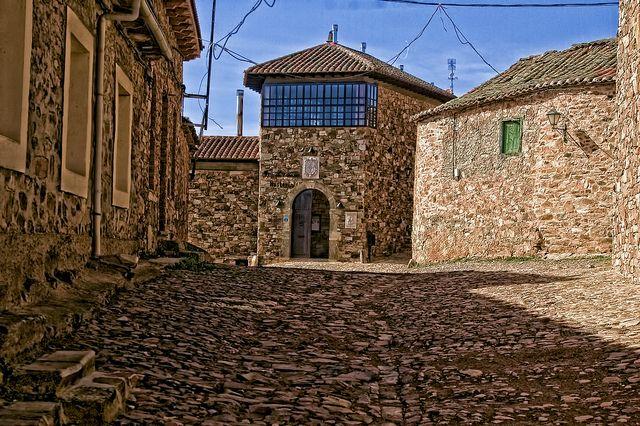 "Castillo de Los Polvazares, León, Spain. In this village you can eat one the best ""cocidos maragatos"" in the world. :)"