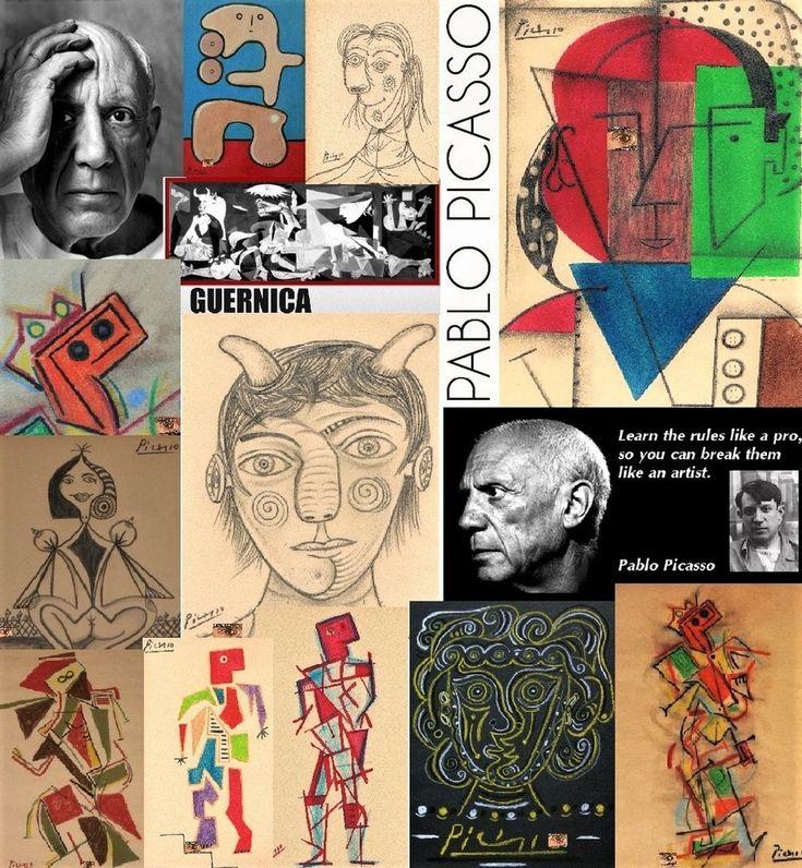 HBD Spanish Artist PABLO PICASSO 25 October 1881 8 April