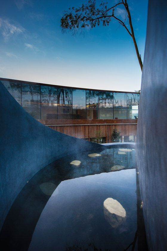 Ruff Well Water Resort by AIM Architecture   Therapy centres / spas