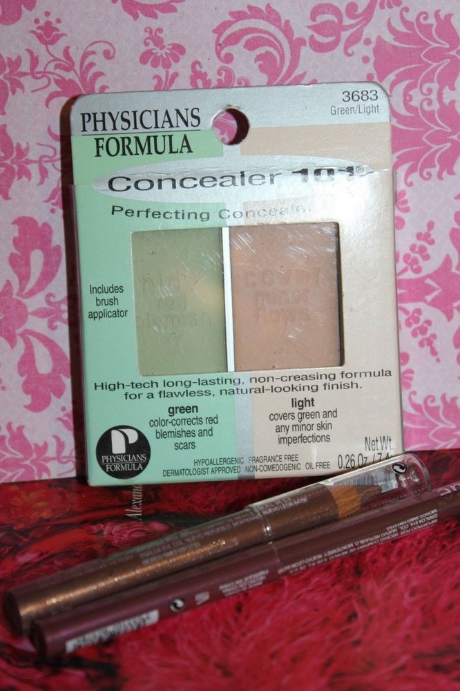 Physicians Formula Concealer 101 Perfecting Concealer Duo 3683  Green/Light+GIFT #PhysiciansFormula