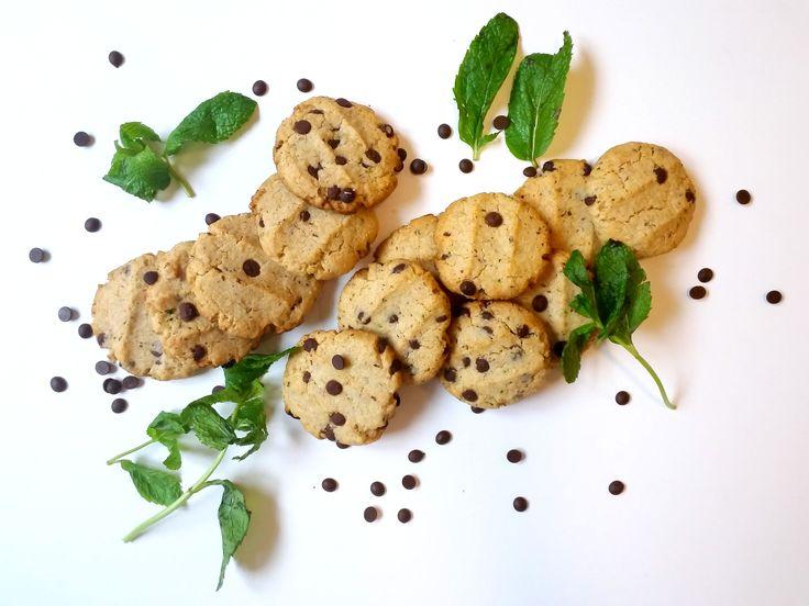 Increíbles Galletas de Menta con Chips de Chocolate #veganas #saludables