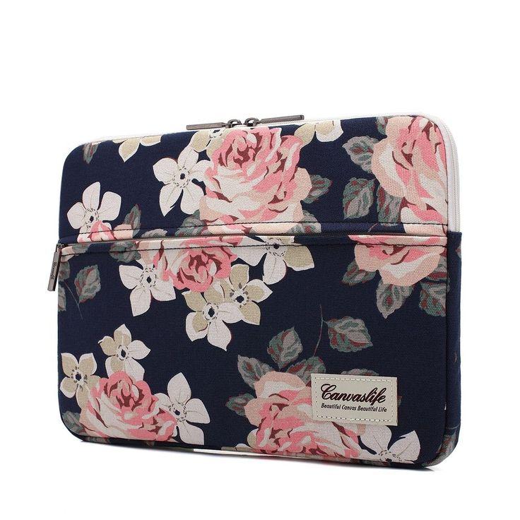 "Sleeve Case Cover Bag For Apple MacBook Pro Air Waterproof Laptop Notebook 13"" #Canvaslife"