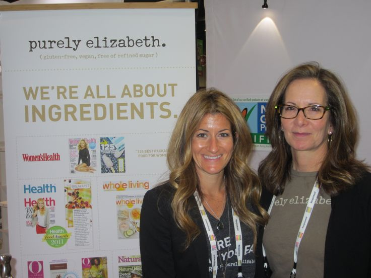 Purely Elizabeth. They're all about ingredients. Natural Products Expo West
