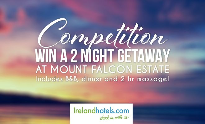 WIN a Weekend Away in the Stunning Mount Falcon Estate thanks to Irelandhotels.com