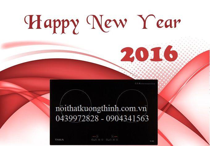 Bếp từ Taka tưng bừng khuyến mãi cuối năm 2015: