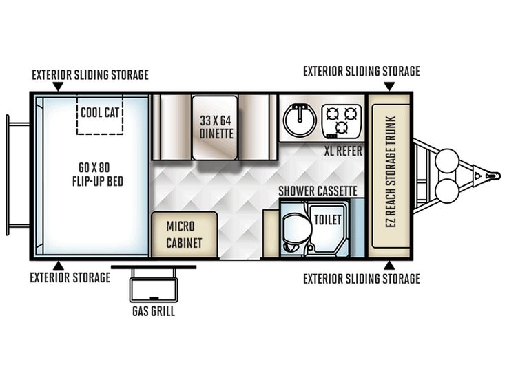 17 Best Images About RV / Wagon / Tiny Home Floor Plans On