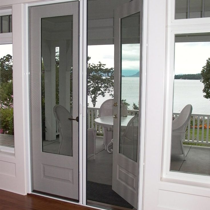 Best 25 retractable screens ideas that you will like on for Double french door retractable screen