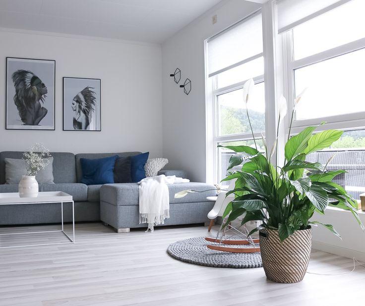 Instagram Hvitelinjer Home Interior Decoration Scandinavian Nordic Design Livingroom Stue