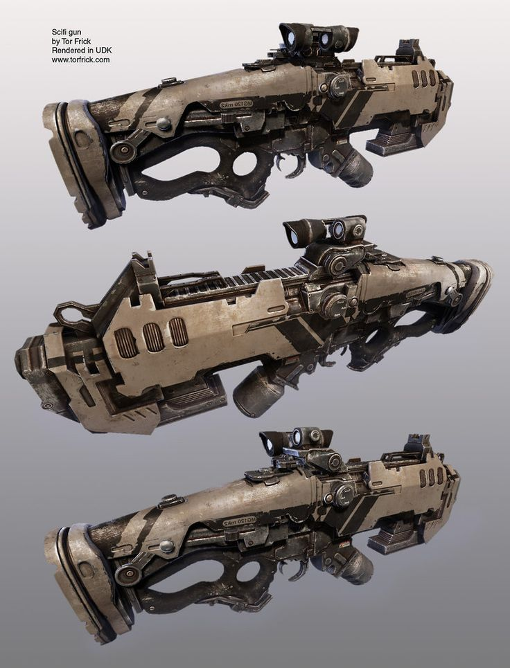 Scifi Rifle, Tor Frick