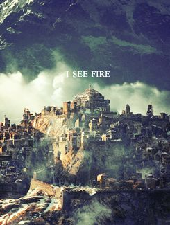 The Hobbit: The Desolation of Smaug | I See Fire by Ed Sheeran, part of the Hobbit Soundtrack I LOVE this song!!