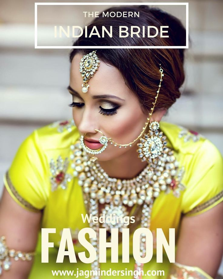 The Modern Bride. Love the bold colour of the bridal dress in this photo. Brides should look into bold colours for their bridal outfit as compared to standard wedding outfit colours.