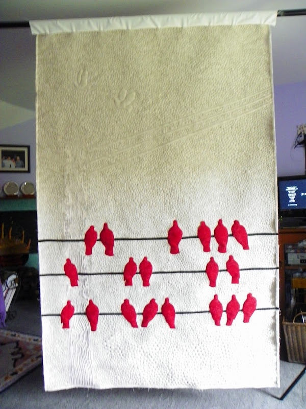 Borderline Quilter: Polly's Pigeons!