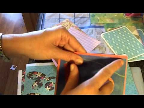 Time to get rid of all that scrap pattern paper! - YouTube