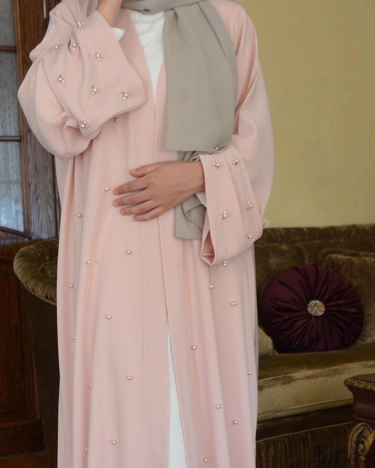 special handmade pearl abaya  #EsteeAudra #abaya #nofilter