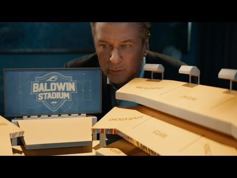 Thinking of making a snack stadium for this year's big game? Take inspiration from Alec Baldwin's architectural model. Alexa, turn on the Stadium Lights. #SuperBowl