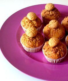 Muffin con amarettini