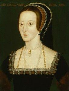 Анна Болейн (1507—1536) , вторая жена английского короля Генриха VIII,