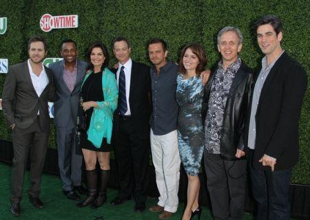 CSI: NY cast with Sela Ward