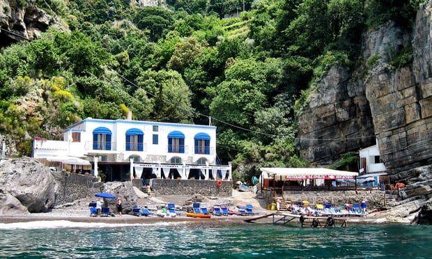 Adolfo restaurant, Positano