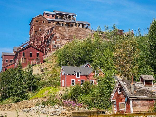 Staré banícke mestá - historické cennosti Aljašky