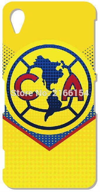 Клуб америка логотип мобильный чехол для Sony Xperia Z Z1 Z2 Z3 Z4 Z5 компактный мини E4 м C1904 C1905 M2 M5 C3 C4 SP M35h обложка телефон