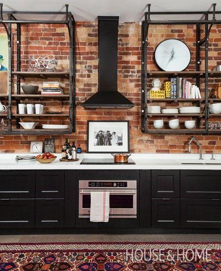 Industrial kitchen   Photographer: Donna Griffith   Stylist: Paul Rowan