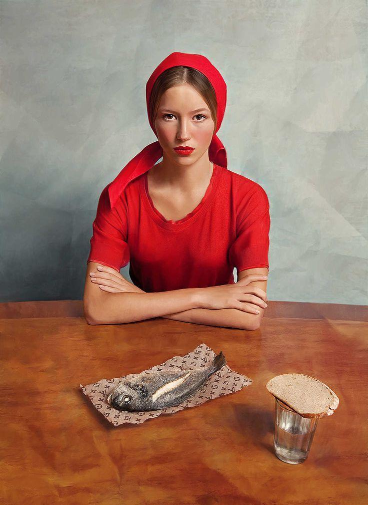Andrey Yakovlev & Lili Aleeva: Girl with a Fish