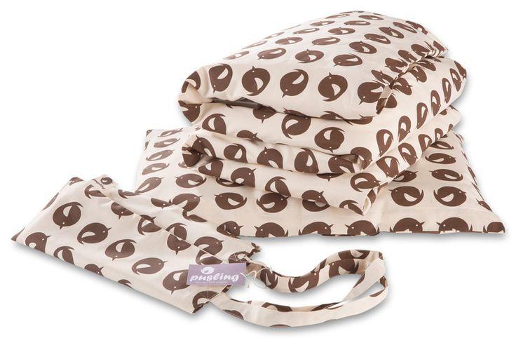 Bettwäsche - Bettwäsche 200x135cm aus 100% Biobaumwol - ein Designerstück von pusling-Bessere-Sachen-fuer-Kinder bei DaWanda